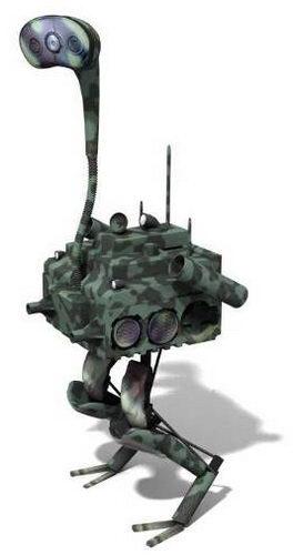 Робот-страус - «Быстрый бегун» Fast Runner
